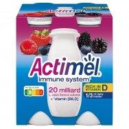 ACTIMEL jogurto gėrimas miško uogų skonio, 4*100g