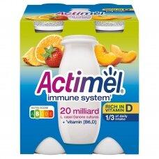 ACTIMEL vaisinis jogurto gėrimas, 4*100g