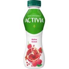 ACTIVIA geriamasis jogurtas su avietėmis ir granatais, 300g