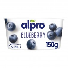 ALPRO fermentuotas sojos produktas su mėlynėmis, 150g