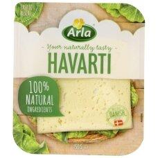ARLA Havarti pjaustytas sūris, 150g
