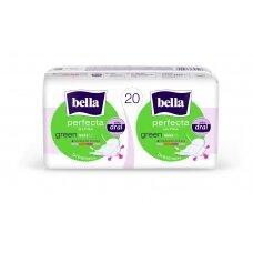BELLA PERFECTA higieniniai paketai Green 20 vnt