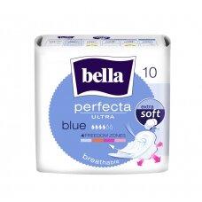 """BELLA PERFECTA higieniniai paketai """"Ultra Blue"""", 10vnt."""