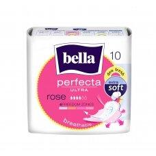 """BELLA PERFECTA higieniniai paketai """"Ultra Rose"""", 10vnt."""