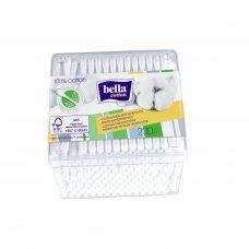 BELLA vatos pagaliukai popierinias koteliais, plast.dėž. 200vnt.
