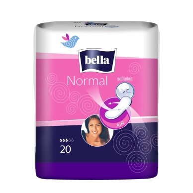 BELLA NORMAL higieniniai paketai, 20vnt