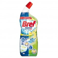 "BREF POWER AKTIV WC GEL valiklis ""Lemon"", 700ml"