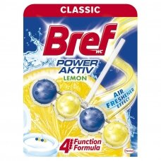 BREF WC POWER AKTIV valiklis-gaiviklis Lemon, 50g