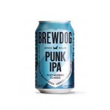 BREWDOG Punk IPA alus skardinėje 5,4% 0,33l
