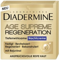 DIADERMINE REJUVENATION naktinis kremas, 50ml