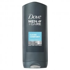 "DOVE MEN dušo želė ""Clean Comfort"", 400ml"