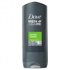 "DOVE MEN dušo želė ""Extra Fresh"", 400ml"