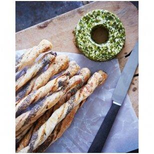 Duonos lazdelės su kreminiu sūriu