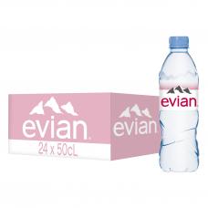 EVIAN natūralus mineralinis vanduo, 0,5L
