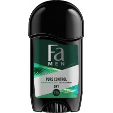 FA MEN PURE Control pieštukinis dezodorantas 50ml