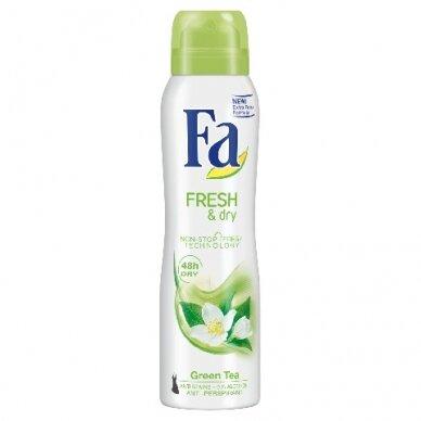 """FA purškiamas dezodorantas """"Fresh & Dry Green Tea"""",150ml"""