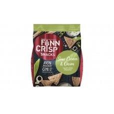 FINN CRISP duonos traškučiai su svogūnais ir grietinėle, 150g
