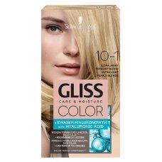 """GLISS COLOR plaukų dažai 10-1 """"Ypač šviesus perlamutrinis"""""""