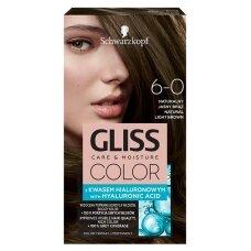 GLISS COLOR 6-0 plaukų dažai Natūralus rusvas