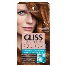 GLISS COLOR 7-7 plaukų dažai Smėlinis varis