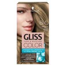 GLISS COLOR 8-0 plaukų dažai Natūraliai šviesus