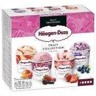 HAAGEN DAZS ledų rinkinys FRUIT COLLECTION, 4x95ml