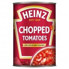 HEINZ konservuoti smulkinti pomidorai, 400g/260g