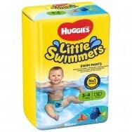 HUGGIES LITTLE SWIMMERS sauskelnės (S), 7-15kg