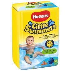 HUGGIES LITTLE SWIMMERS sauskelnės (S), 7-15kg