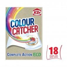 "K2R skalbiamieji lapeliai ""Colour Catcher ECO"", 18vnt."