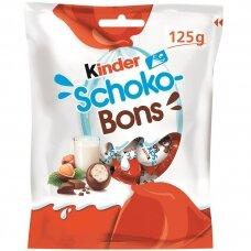 KINDER SCHOKO-BONS saldainiai, 125g