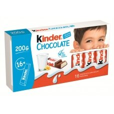 KINDER šokoladas T16, 200g