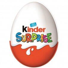 KINDER SURPRISE šokoladinis kiaušinis, 20g