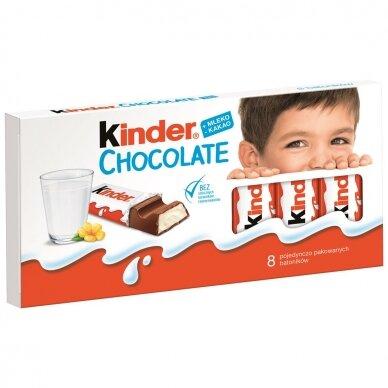 KINDER šokoladas T8, 100g