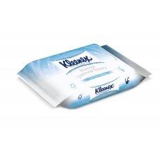 """KLEENEX šlapias tualetinis popierius """"Moist"""" papildymas, 42 vnt."""
