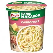 KNORR makaronai su sūriu ir grietinėlės padažu, 60g
