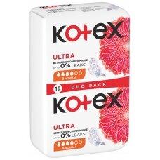 """KOTEX higieniniai paketai """"Normal"""", 16 vnt."""