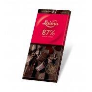 LAIMA kartusis šokoladas  87%, 100g