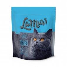 LA MURR sausas kačių ėdalas su žuvimi, 800g
