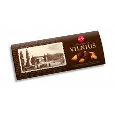 LAIMA kartusis šokoladas su migdolais Vilnius,200g