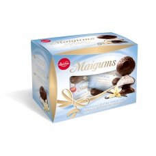LAIMA MAIGUMS vanilinė suflė glaistyta šokoladu, Dovana, 185g