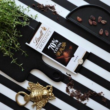 LINDT EXCELLENCE juodasis šokoladas (70%), 100g 3