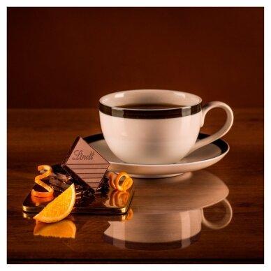 LINDT EXCELLENCE juodasis šokoladas su apelsinais, 100g 3