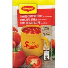MAGGI 5MT pomidorų sriuba su makaronais, 17g
