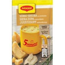 MAGGI 5MT sūrio sriuba su skrebučiais 19g