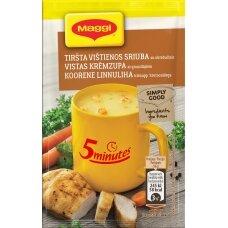 MAGGI 5MT vištienos sriuba su skrebučiais 16g