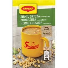 MAGGI 5MT žirnių sriuba su skrebučiais 22g