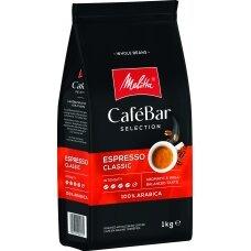 MELITTA CAFEBAR Espresso Classic kavos pupelės, 1kg