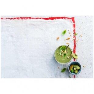 Žaliasis glotnutis su ALPRO nesaldintu sojų gėrimu
