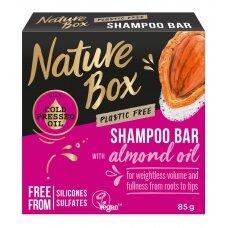 "NATURE BOX kietasis šampūnas ""Almond"", 85g"